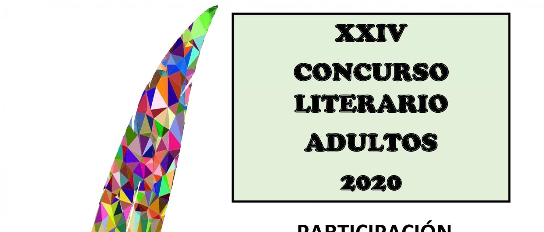 XXIV CONCURSO LITERARIO ADULTOS 2020